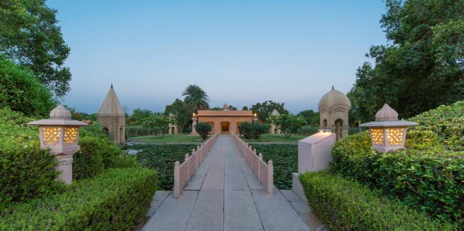 The Oberoi Rajvilas  Jaipur in Rajsthan
