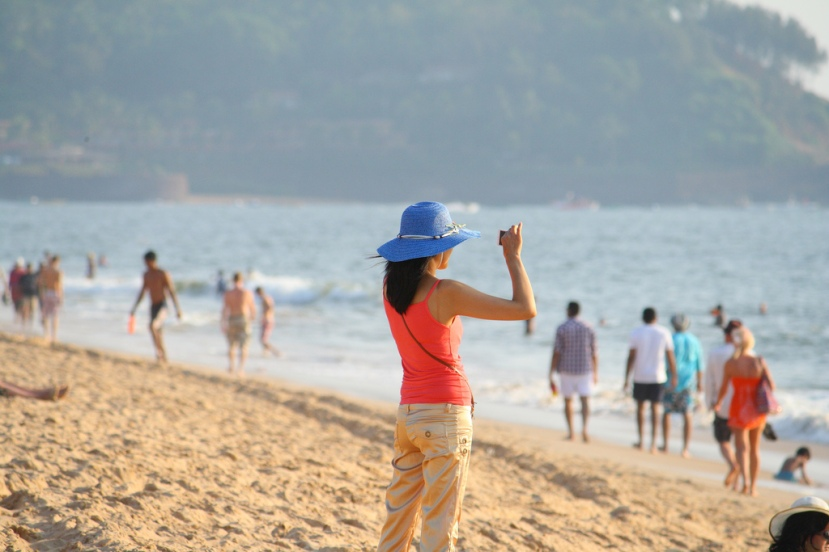 Candolim Beach in Goa