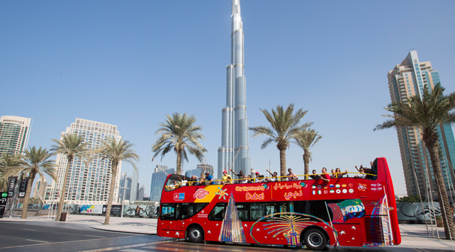 Dubai By Bus