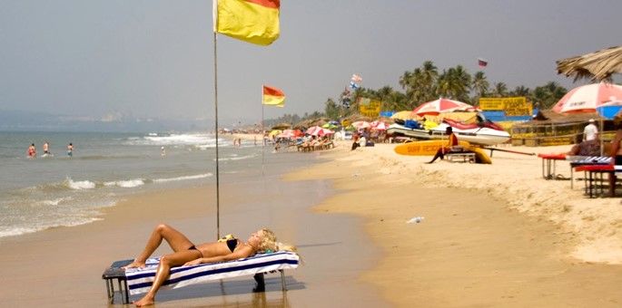 Morjim Beach in Goa