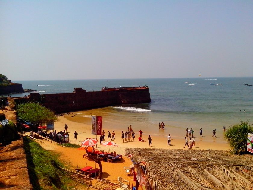 Sinquerim Beach in Goa