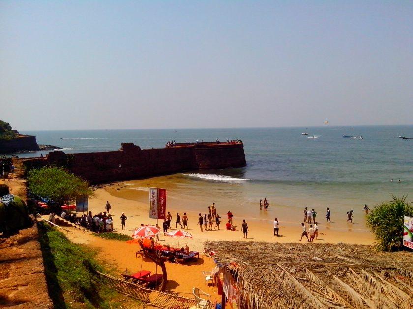 Sinquerim Beach in Goa