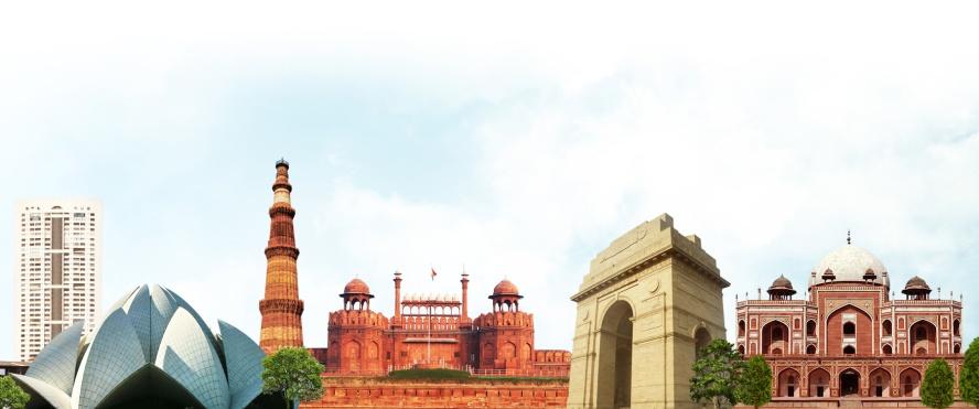 around delhi
