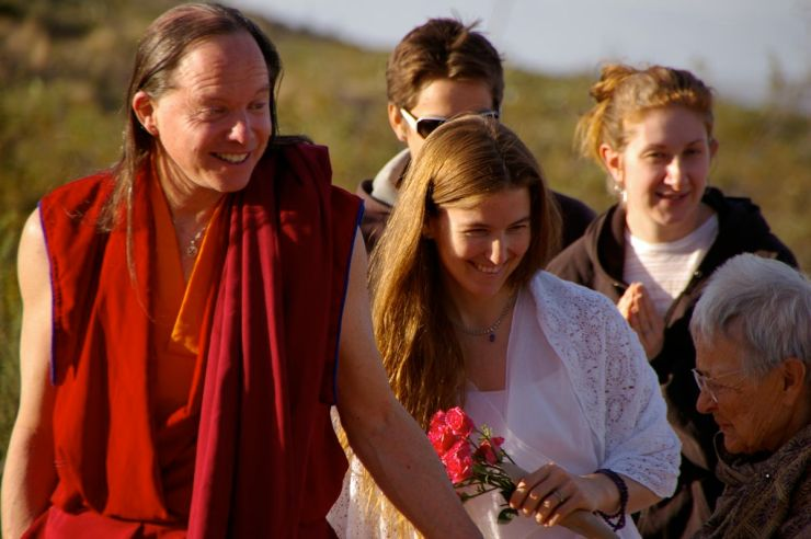 Geshe_Michael_and_Lama_Christie