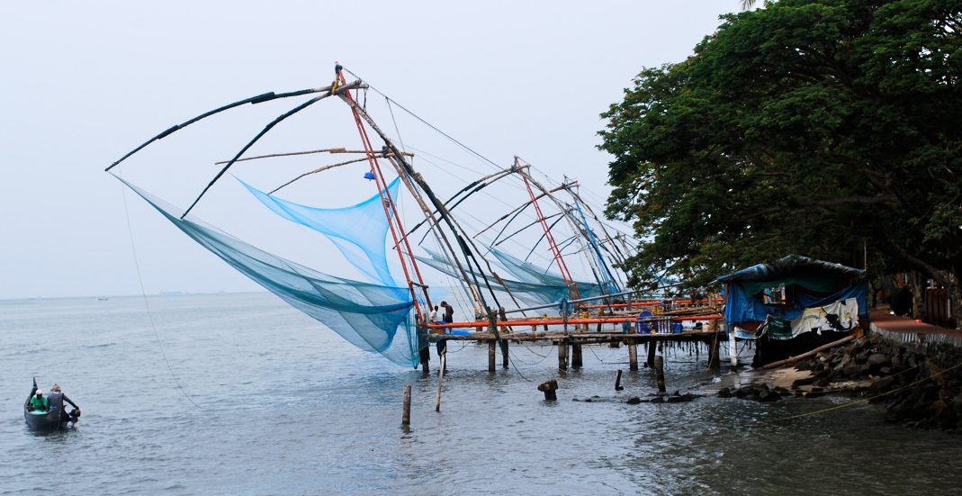 Cochin Chinese Fish Nets