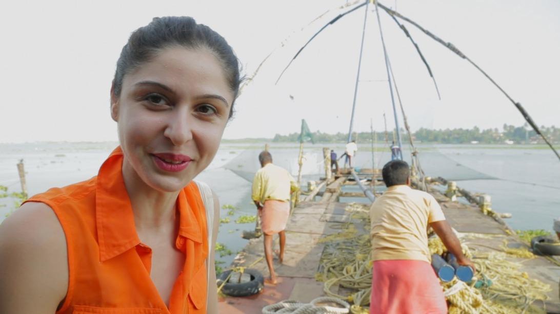 Cochin Chinese Fish Nets