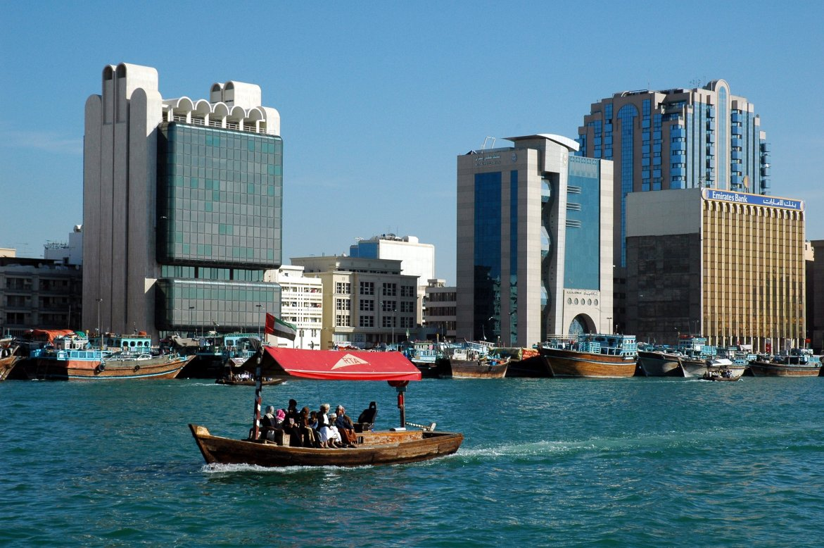 Dubai-Abra-Boat-Rides-Across-Dubai-Creek-Photo