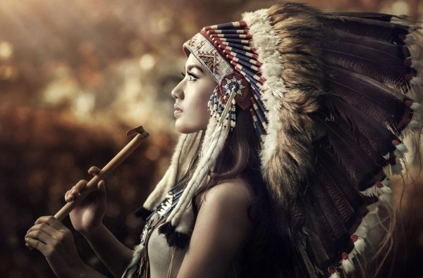 Indian powwows