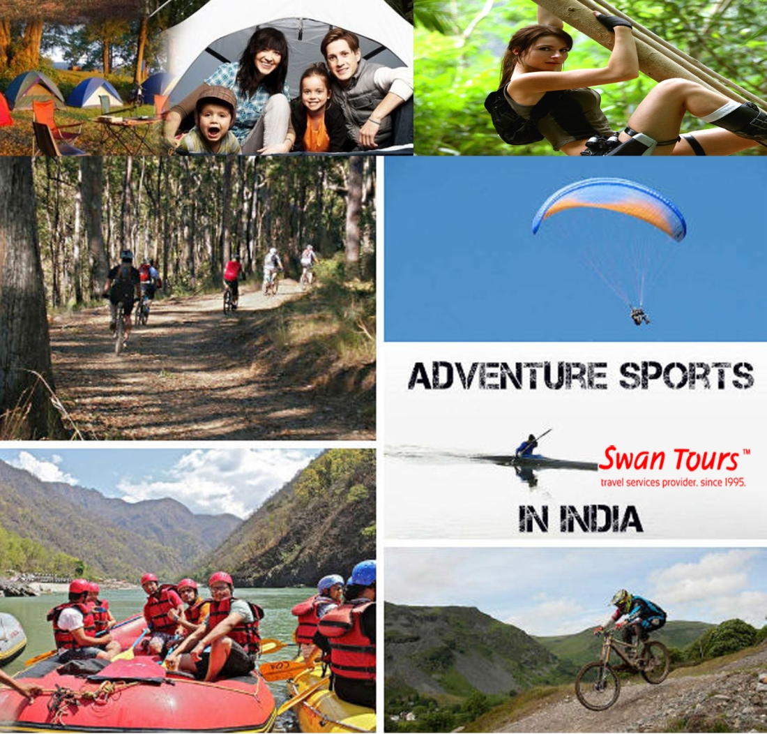 Major Adventure Destinations In India