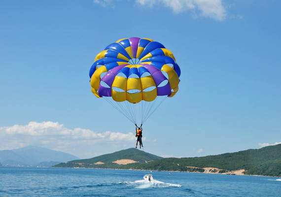 paragliding in andman