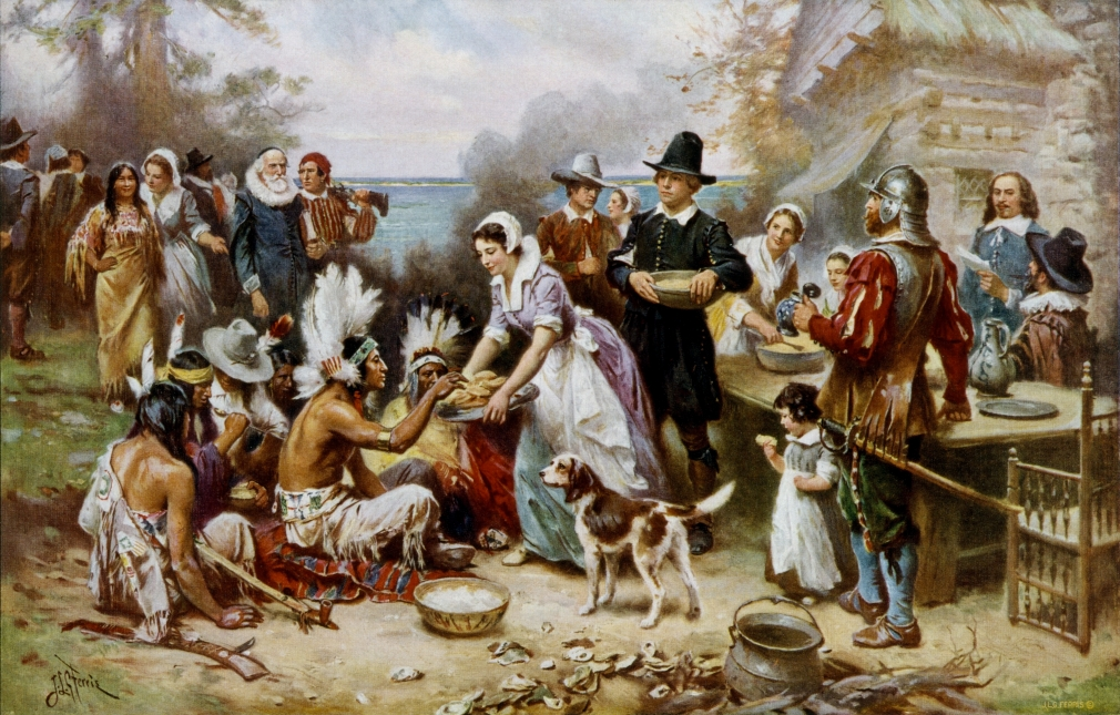 Encountering Native American society