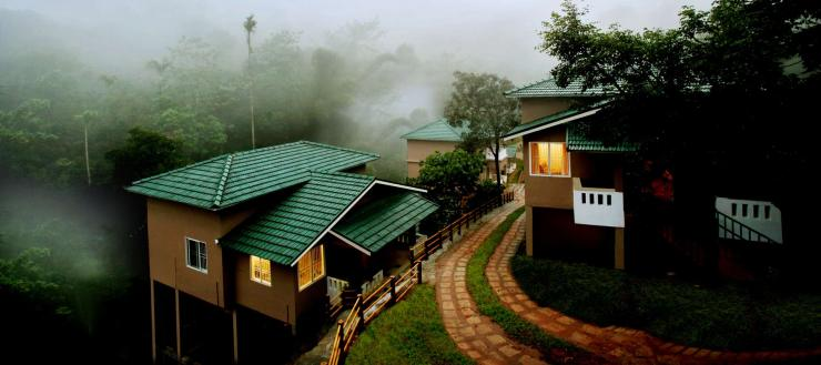 Misty Lakkidi Village Resort