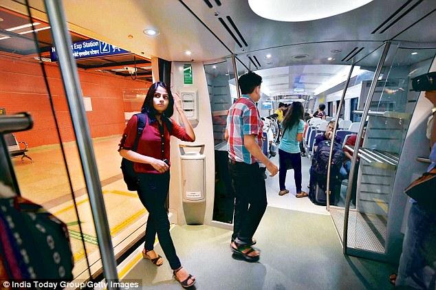 Airport metro line in Delhi