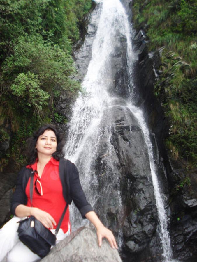 Bhagsunag Falls in Dharamsala