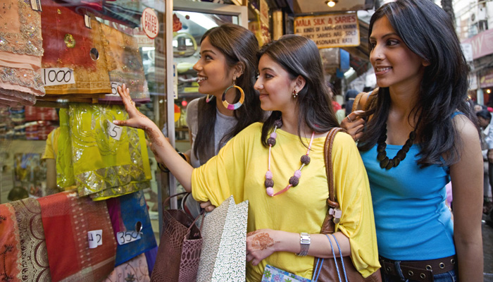 Delhi shopping