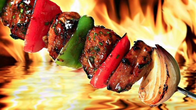 Kebabs in Delhi