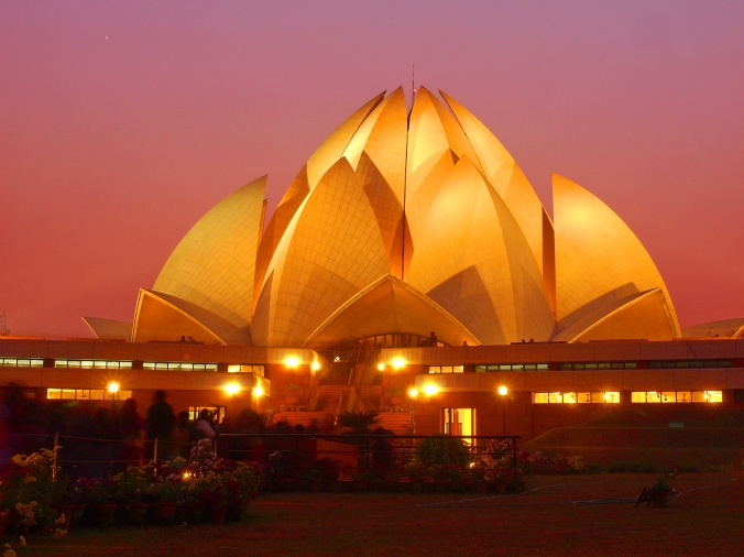 lotus temple delhi wallpaper