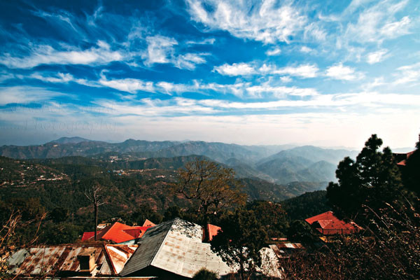 Manki Point in Kasauli