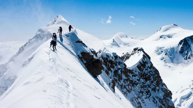 Mountaineering in Kashmir