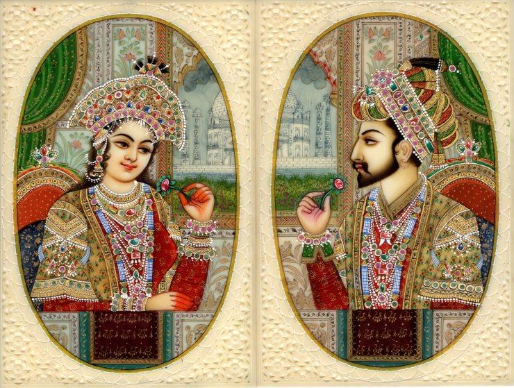 Mumtaz Mahal and Shahjaha