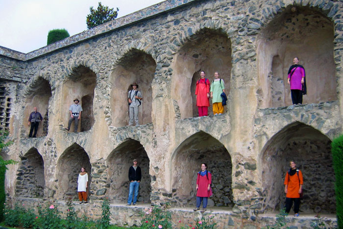 Pari Mahal, prevalently srinagar