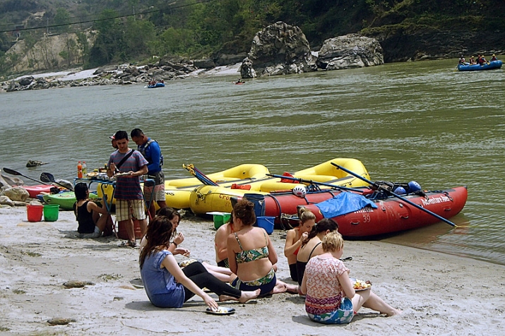River Rafting in Kashmir