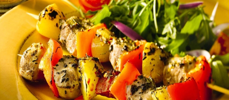 Salamis kebab in Delhi
