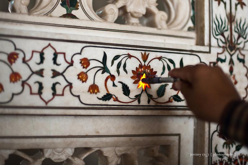 Taj Mahal Inlaid Designidelish L India Number 1 Travel Blogs