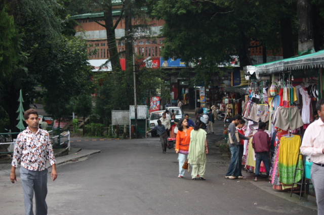 The Shopping Mall in Kasauli