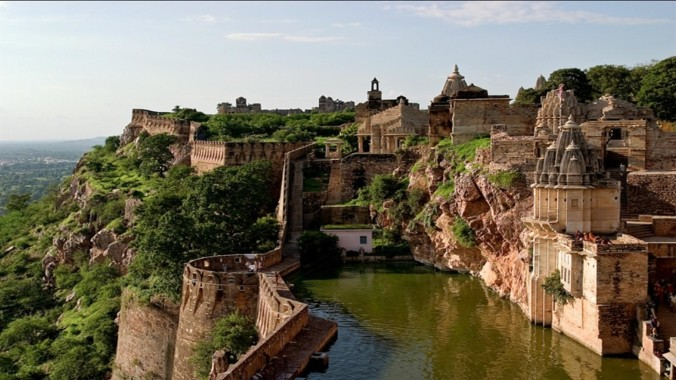 Chittorgarh fort of rajasthan