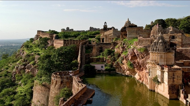 Chittorgarh fort of rajasthan