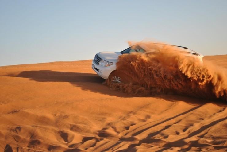 Dune Bashing in Jaisalmer