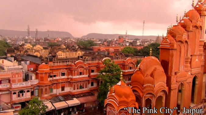 """The Pink City""- Jaipur"