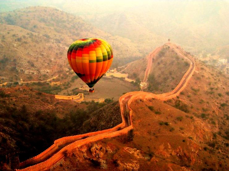 Hot Air Ballooning Jaipur-Fort