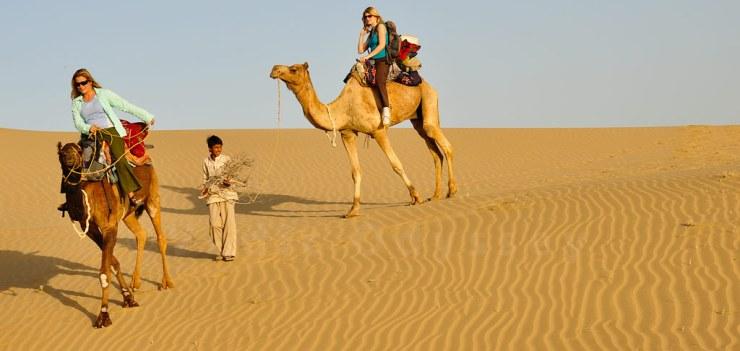 Royal Camping in Desert
