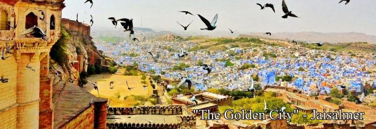 """The Golden City"" - Jaisalmer"
