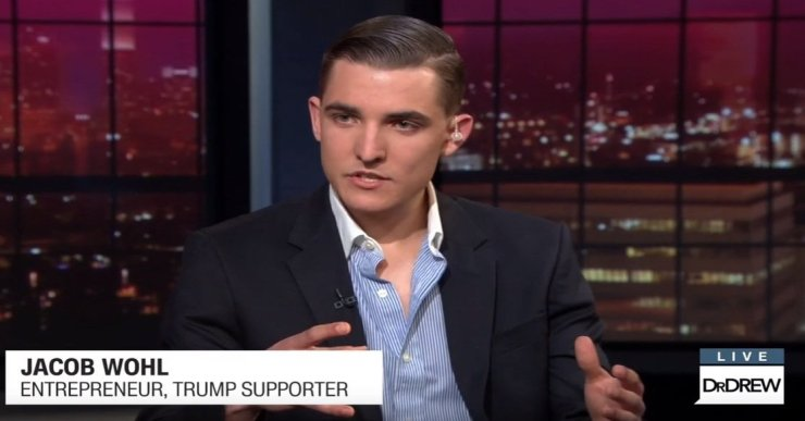 "JACOB WOHL IS PROUD TO BE THE ""NUMBER ONE THEME OF THE TRENDS"" AFTER THE BAN ON TWITTER"